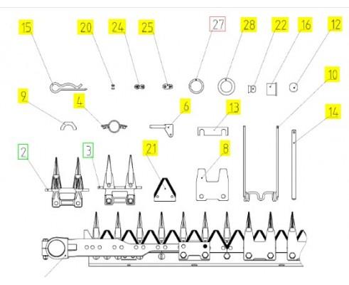 081.27.15.060 Комплект запасных частей гидрооборудования