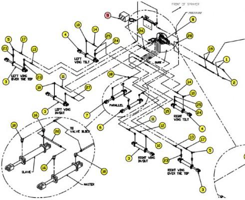 SX312-001 панель управления штангой