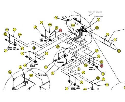 SX6405-8-8 фиттинг гидравлический