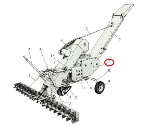 МЗС 90.02.000 Триммер с эл.двигателем для З/Ч