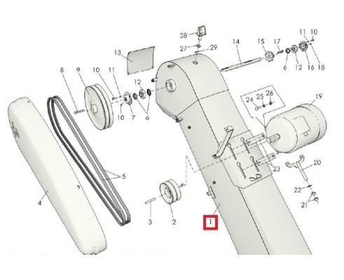 МЗС 90.03.090 Короб транспортера загрузочного