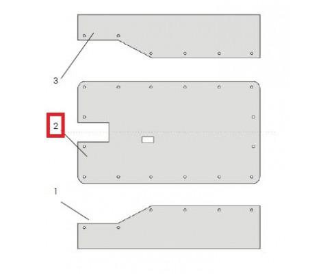 ЖТТ 00.710-01 Тент верхний