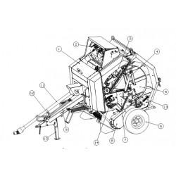 ППР-122.04.070 Жгут с датчиками З/Ч