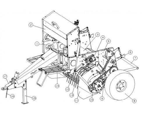 ППР-122.10.380Б Электродвигатель с редуктором З/Ч