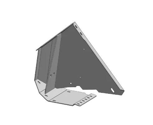ЖСУ 703.01.05.300 Опора делителя левая