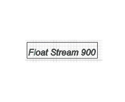"""ЖСУ 900.22.00.005 Аппликация """"Float Stream 900"""""""