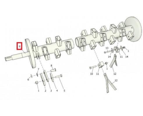 КРФ 351.01.03.050 Ротор