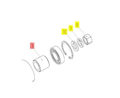 Втулка - 10.01.01.004А