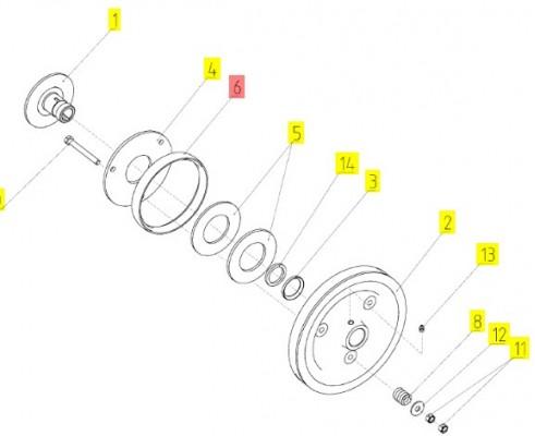 Кольцо ТУ 38.005.204-84 - 10.01.54.002А
