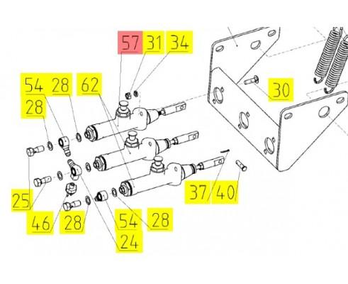 10.04.14.150 - Гидроцилиндр главный тормозной