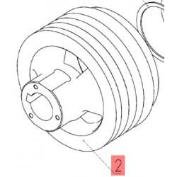 10.05.04.102 - Шкив привода ГСТ (5-ти руч.) Дон-1500 М