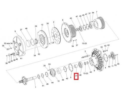 КВС-1-0151801А - Втулка