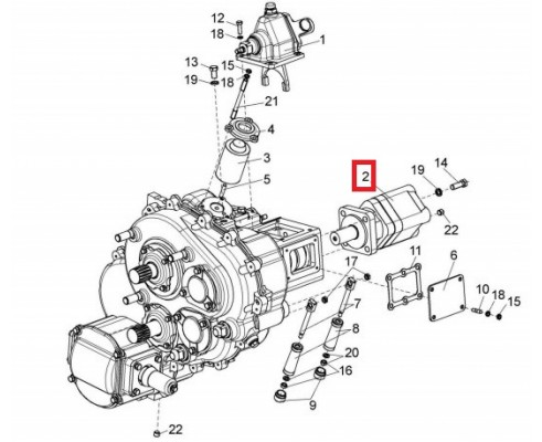 КВС-1-0602660 - гидромотор