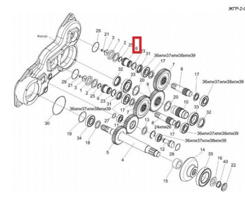 ЖГР-1-0202603 - полумуфта