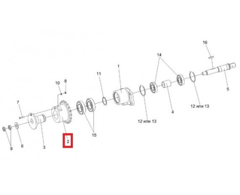 ЖГР-2-0215601 - Звёздочка