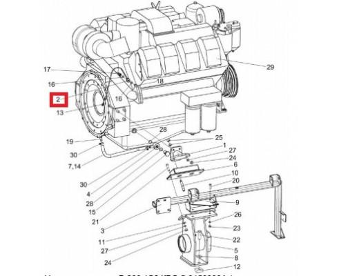 КВС-5-0150050 - Маслопровод