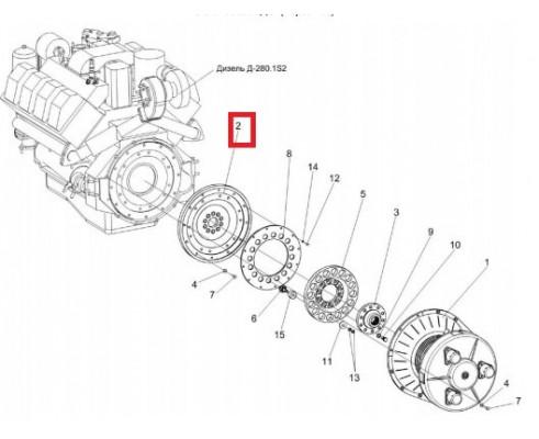 КВС-5-0151401А - Диск