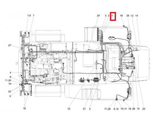 КВС-5-0700250В - Жгут