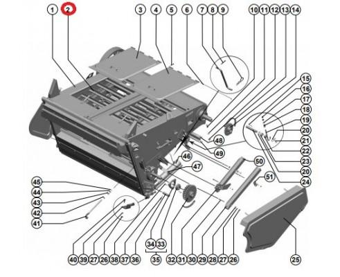 3518060-18350 - Транспортер цепной н/кам.