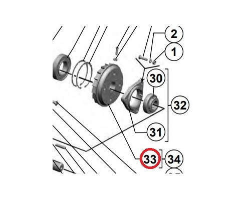 3518060-18560 - Механизм реверса