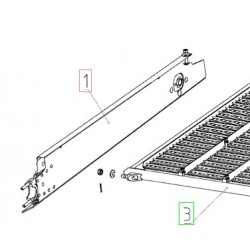10Б.01.06.010А - Борт левый верх. решета