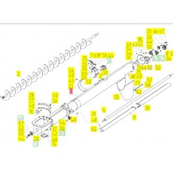 10Б.01.55.020 - Корпус выгрузного шнека