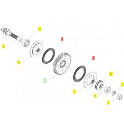 231.130.02.0002 - Диск фрикционный муфты редуктора
