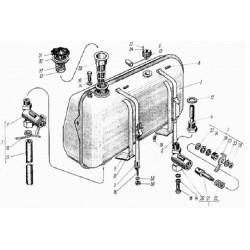 Бак топливный 150.50.010А (Т-150)