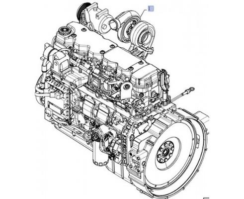 87632129 - двигатель