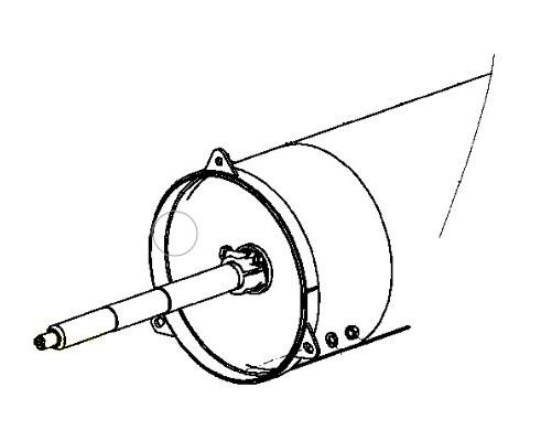 Труба мотовила 081.27.03.500-01