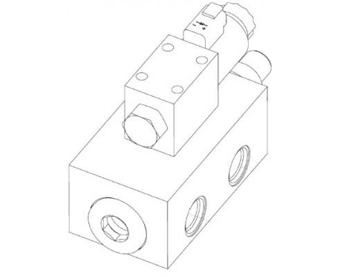 Блок гидравлический 0055 966.1