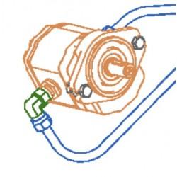 Гидромотор 142.09.65.100