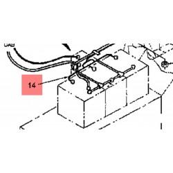 Кабель аккумулятора черный 86000488