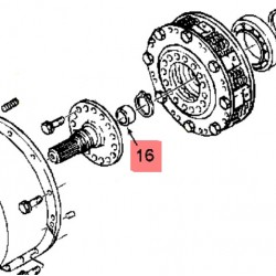 Втулка низкого трения 60 mm 86001325