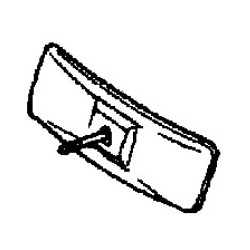 Зеркало заднего вида 86002056