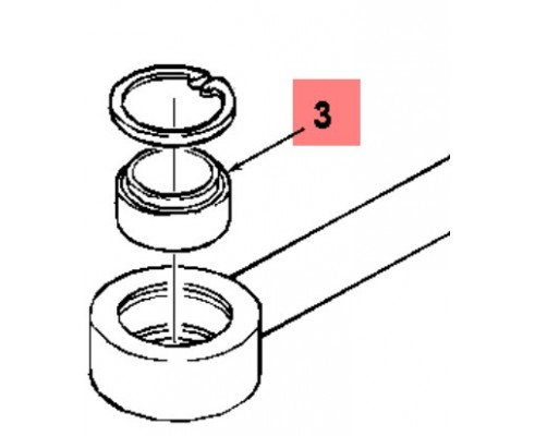Втулка сферич. 45.0х68.0х32.0 86002392