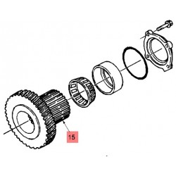 Колесо z-42/22 блока зубч.колес 86020165