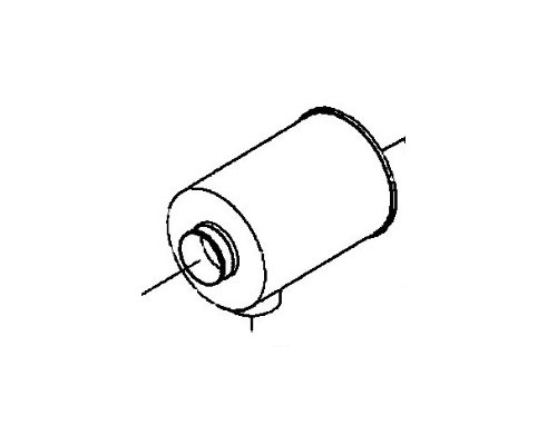Воздушный фильтр в сборе 11л 86021947