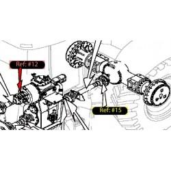 Вилка трансмиссии входная 8,5с 86031904