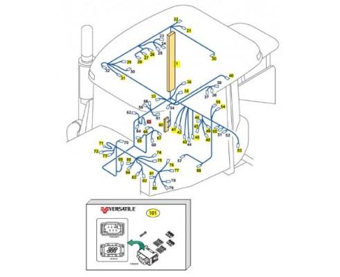 Дроссель контроля электроники 86032980