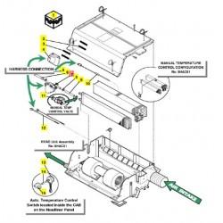 Водяной клапан электронн. герм. 86033052