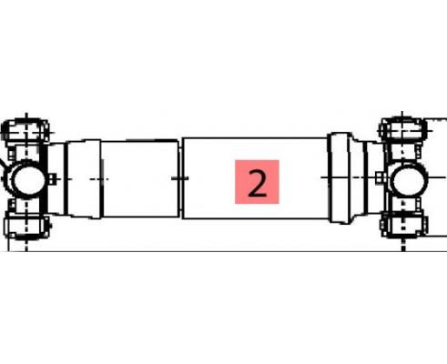 Вал карданный передний 8,5с 86033803