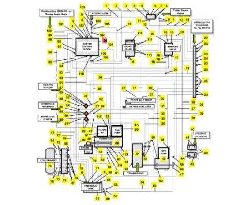 Блок управления главный 86034094