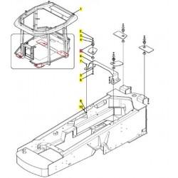 Изолятор болта кабины 86034711
