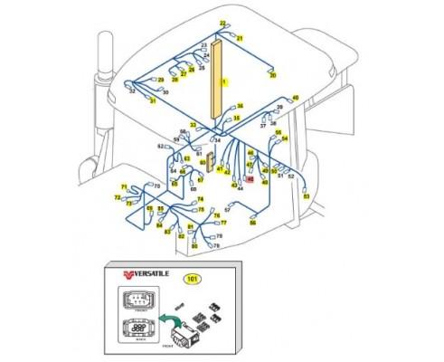 Жгут синхронизатора трансмиссии 86035082