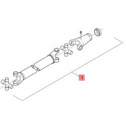 Вал карданный моста ultrasteer 86035384