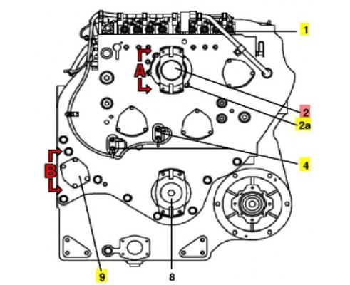 Вилка кардана 86036090