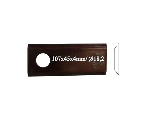 Нож роторный RADURA, правый, 559 033 10, 25 шт. в упак.