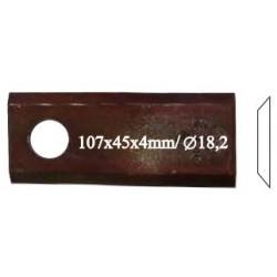 Нож роторный RADURA, левый, 559 032 10, 25 шт. в упак.