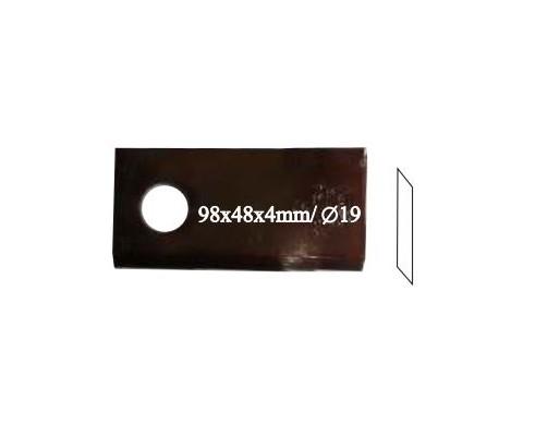Нож роторный RADURA, правый, 121 713, 25 шт. в упаковке